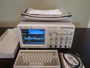 Agilent Hp 54845a 4 Channel 1 5 Ghz 8 Gsa s Infiniium Digital Oscilloscope