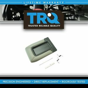 Center Console Lid Repair Kit Light Gray For Gm Pickup Truck Suv New