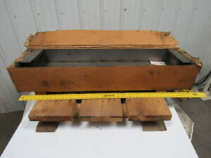 619 48391 00 Telescopic Steel Machine Way Cover 65 1 2 Extended 41 Wide