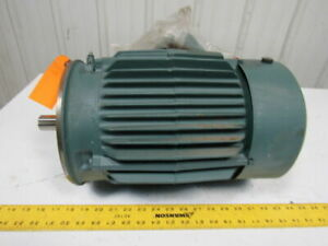 Reliance Electric P18g1132c 3hp Electric Motor 230 460v 184t Frame 1755 Rpm