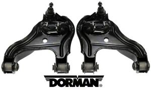 Set Of 2 Front Lower Control Arms W Ball Joints Dorman For Dodge Ram 2500 3500