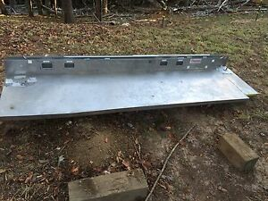 7 6 X 24 6 Back Splash Stainless Steel Kitchen Or Work Station Counter Top