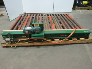 American Lifts 101894 Powered Conveyor 64 wide 96 long 3 4 Hp 85fpm Tested