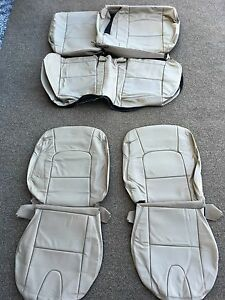 Leather Seat Covers For 2007 Mazda 3 Khaki Partial A327