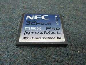 Nec Dsx 40 80 160 1091053 V1 4 G Intramail 8 Port 32 Hour Pro Voice Mail System