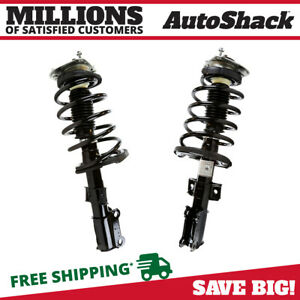 Front Pair 2 Complete Struts Assembly W Coil Springs Fits 2001 2009 Volvo S60