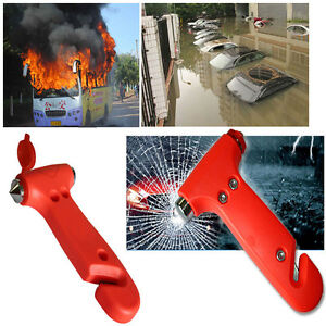 Car Window Glass Seat Safety Auto Emergency Life Saving Hammer Belt Cutter Tool