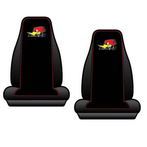 New Classic Mr Horsepower Car Truck 2 Front Bucket Seat Covers Set