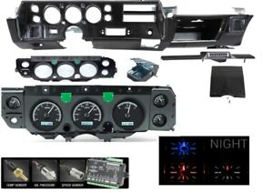 70 72 Chevelle Ss Super Sport Dash Conversion Kit Dakota Digital Vhx 70c cvl k