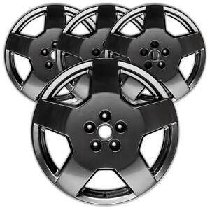 18 Hypersilver Rim By Jte For 2005 2007 Chevy Cobalt 18x7 Set Of 4