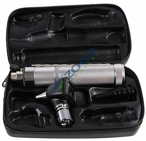 Welch Allyn 25020 3 5v Diagnostic Otoscope With Handle And Hard Case