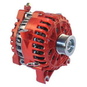 Tuff Stuff Alternator 8252dred 6g 200 Amp Red Oe wire W 6 groove Pulley