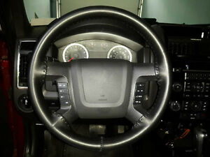 Wheelskins Leather Steering Wheel Cover Black 1999 2013 Chevrolet Silverado
