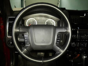 Wheelskins Leather Steering Wheel Cover Solid Black 17 18 Chevrolet Silverado