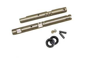 Np 205 Stainless New Twin stick Shift rails Gm Dodge W install Kit