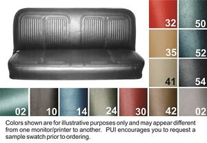 1969 70 Chevy Truck Seat Covers Buckets Or Bench Pui