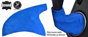 Blue Faux Suede Shift Boot E Brake Fits Honda Civic Ep3 Type R Mk7 2001 05