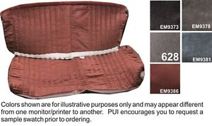1988 94 Chevy Truck Cloth Bench Seat Cover Pui