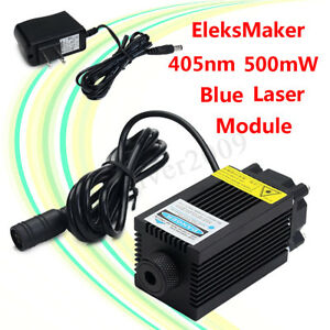 405nm Blue Laser Module Focusable 500mw For Diy Laser Engraver Engraving Machine