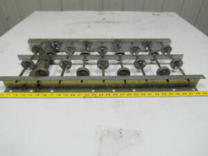 10 Wide Gravity Skate Wheel Conveyor Approximately 28 1 2 Long