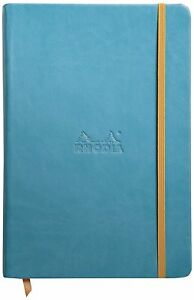 Rhodia Rhodiarama Webbies Notebook Turquoise Lined 5 5 X 8 25 118747c