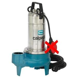 Submersible Vortex Pump Dirty Water Calpeda Gqs50 11 0 9kw 1 2hp 400v 50hz Z2