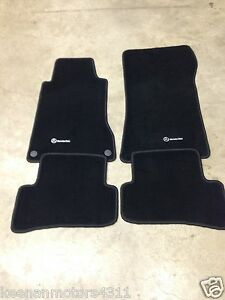 Genuine Oem Mercedes Benz C Class W203 S203 Anthracite Carpeted Floor Mats 02 07