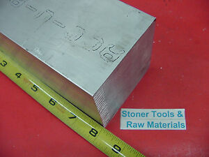 3 1 2 X 3 1 2 Aluminum 6061 Square Solid Bar 8 Long T6511 Flat Mill Stock 3 5