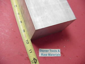 3 1 2 x 3 1 2 Aluminum Square 6061 Flat Bar 10 Long Solid T6511 Mill Stock