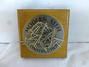 Magnetic Desk Toy Modern Steel Construction Contractor Ironworker Dad Gag Gift