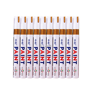 12pcs Waterproof Car Tyre Tire Tread Paint Marker Pen Permanent Gold Tire Pen
