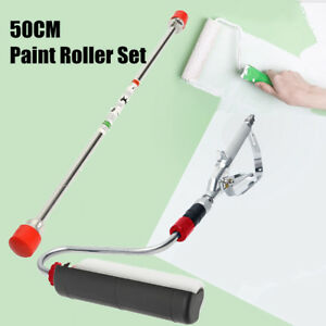 23cm Airless Paint Sprayer Gun Power Roller 50cm Extension Pole For Titan Wagner