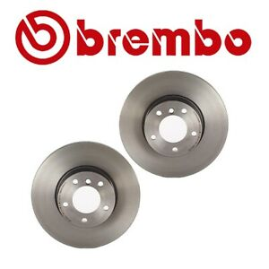 For Bmw F32 F33 F30 F23 E90 Pair Set Of 2 Vented Front Brake Disc Rotors Brembo
