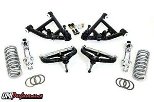 Umi Performance 78 88 G body Competition Front Control Arms W Coil Over 850 Lb