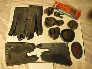 Mixed Lot Of Vintage Mercury Cougar Car Automobile Parts Original Hardware Etc