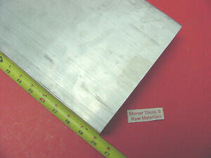 1 2 X 10 X 20 Aluminum 6061 Flat Bar Solid T6511 New Mill Stock Plate 50