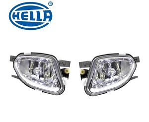 For Mercedes W211 E320 E500 Pair Set Of Front Left Right Fog Lights Oem Hella