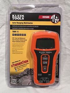 New Klein Tools Mm500 Auto Ranging Lcd Multimeter Lcd Display Dust