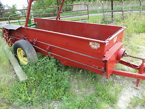 Mill Creek Small Manure Spreader Great For Kubota Tractors Pto Drive