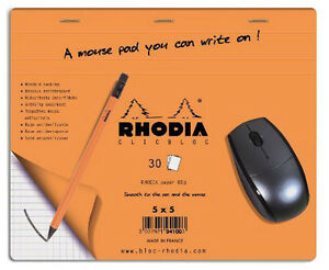 Rhodia Boutique Mouse Pad 7 5 X 9 Accessory R19410