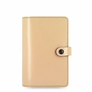 Filofax The Original Personal Leather Organizer Agenda Patent Nude 2016 Calen