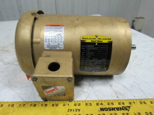 Reliance P14g9241h 1hp Electric Motor 230 460v 1140rpm 3ph Fd145t Frame