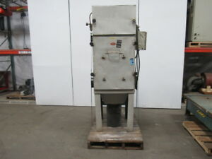 Airflow Systems 3 Hp Dust pak Weld Fume Dust Collector 208 230 460v 8 Intake