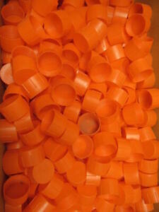Niagara Plastics Tc 18 Threaded Plastic Caps 1 5 16 12 Lot Of 760