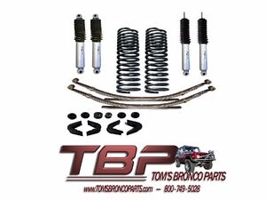 1966 1977 Early Ford Bronco Stock Suspension Kit Complete Stage 1