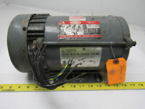 Dayton 3n371 1 1 2hp Electric Motor 230 460v 3ph J56 Frame Hazardous Location