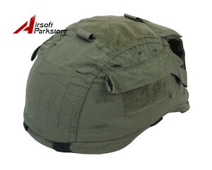 Tactical Helmet Cover for MICH TC-2001 ACH Helmet Airsoft Paintball Olive Drab