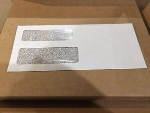 Double Window Envelope Form 777 4 3 16 X 9 1 2 Control O Fax Lot Of 1000