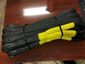1 New Smittybilt Cc121 Kinetic Recovery Rope 30k Off Road Snatch Strap 1 X 30