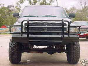 New Ranch Style Front Bumper 94 95 96 97 98 99 00 01 02 Dodge Ram